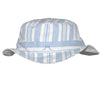 Blue Striped Sun Hat - Tendre Deal