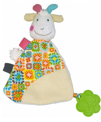 Happy farm - Huguette the goat comfort blanket - Tendre Deal - 1