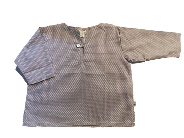 Emma blouse - Grey with stars