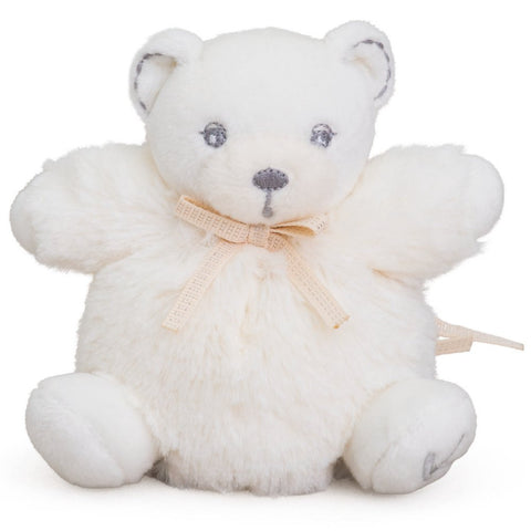 Mini Chubby Perle - White Teddy Bear - Tendre Deal - 1