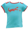 Baby Green/Red Crocodile T-Shirt