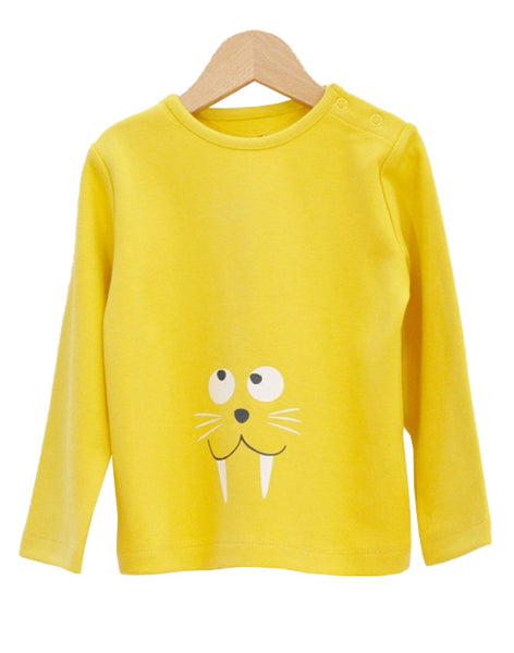 Walrus Long Sleeve T-Shirt - Tendre Deal - 1