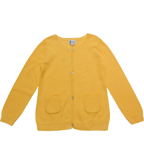 Knitted Cardigan - Lemon - Tendre Deal