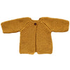 Hand-knitted Cardigan - Golden