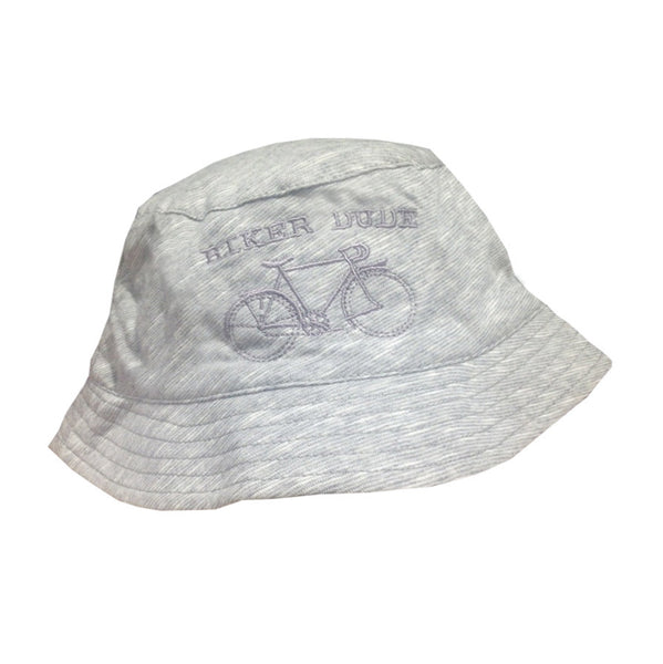 "Sun hat ""Biker Dude"" - Grey - Tendre Deal"