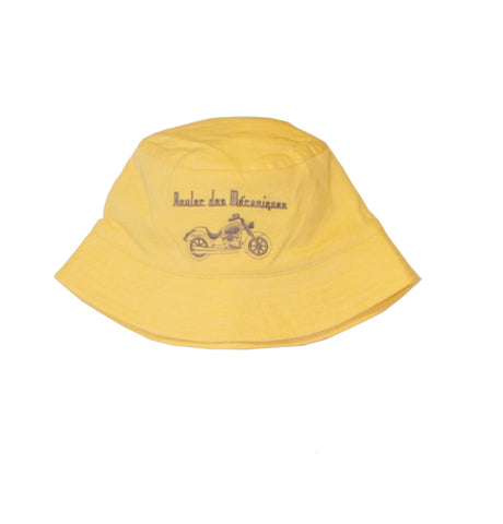 "Sun hat ""Reveur Professionnel"" - Yellow - Tendre Deal"