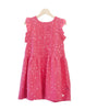 Pleated Froggy Dress - Raspberry