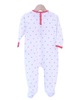 Floral Cotton Sleepsuit with Squirrel - Tendre Deal - 2