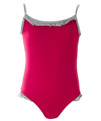 UV50+ Starlette Swimsuit - Raspberry - Tendre Deal - 1