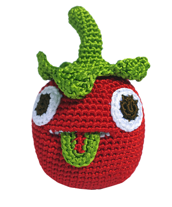 Hand crocheted Tomato - Tendre Deal