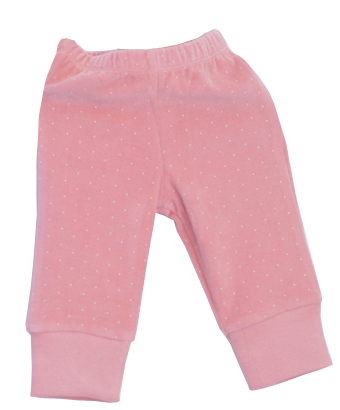 Sweet Pink Trousers with Dots - Tendre Deal