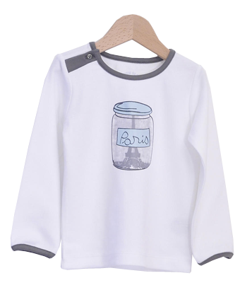T-Shirt Paris in a jar - Tendre Deal - 1