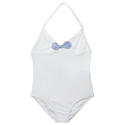 Liberty Swimsuit - White - Tendre Deal - 1