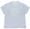 Printed T-Shirt with Light Blue Baseball - Tendre Deal - 1