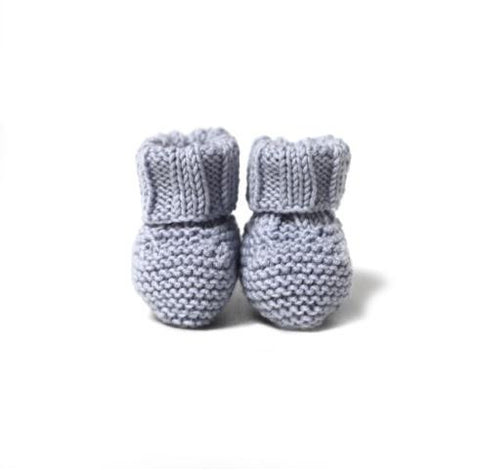 Copy of Knitted Booties - Pink - Tendre Deal