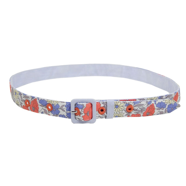 Esme Liberty Print belt - Blue - Tendre Deal