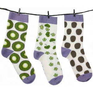 Socks by 3 - Kiwi - Tendre Deal - 1