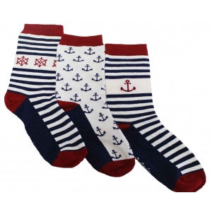 Socks by 3 - Navy - Tendre Deal