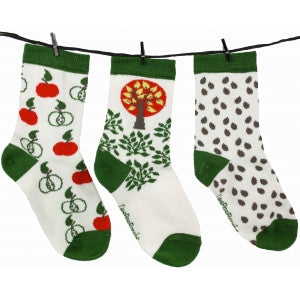 Socks by 3 - Apple - Tendre Deal - 1
