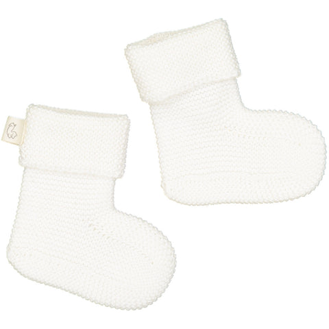 Fastoche booties socks - white - Tendre Deal - 1