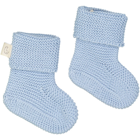 Fastoche booties socks - blue - Tendre Deal - 1