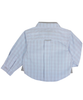 Blue Long Sleeves Checked Shirt - Tendre Deal - 2