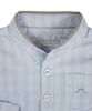Blue Long Sleeves Checked Shirt - Tendre Deal - 3