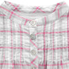 Long Sleeves Checked Tunic - Tendre Deal - 2