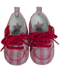 Baby Lace-Up Checked Shoes - Tendre Deal - 1