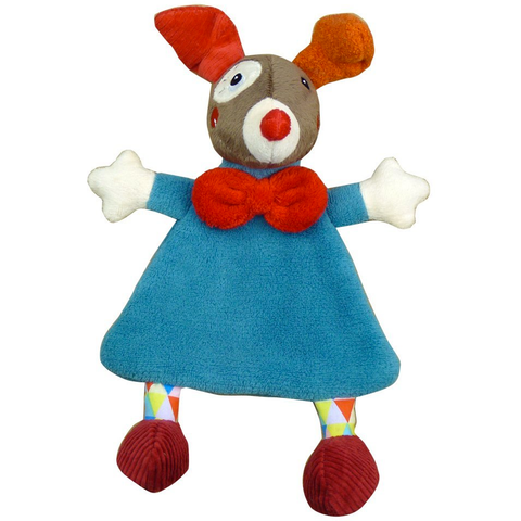 Gustave The Clown Comfort Blanket - Blue - Tendre Deal - 1