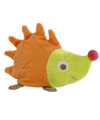 Multiactivity hedgehog soft toy - Tendre Deal - 1