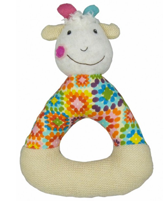 Happy Farm - Huguette the Goat Activity Rattle - Tendre Deal - 1