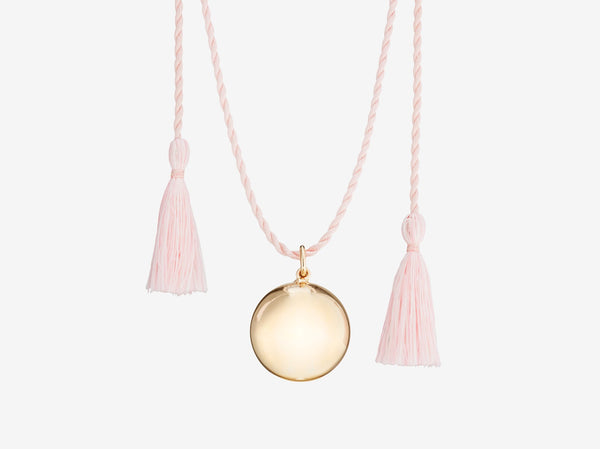Joy Pregnancy Necklace - Pink Gold