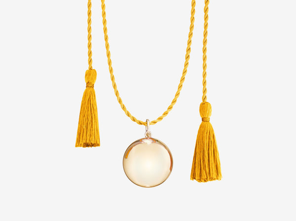 Joy Pregnancy Necklace - Yellow Gold