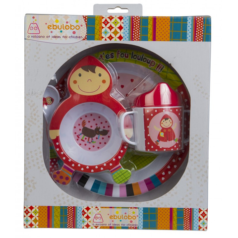 Little Red Riding Hood Melamine Dinner Set - Tendre Deal - 1