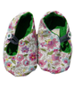 Baby shoes with Pink flowers - Tendre Deal