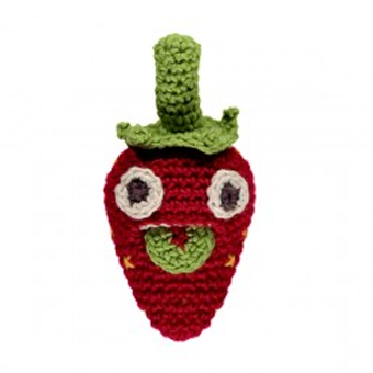 Hand-Crocheted Strawsberry Soft Toy - Tendre Deal