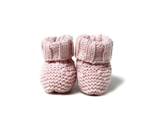 Copy of Knitted Booties - White - Tendre Deal