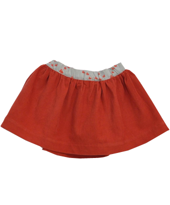 Corduory Poppy Skirt - Tendre Deal