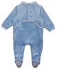 Velvet Baby Pyjamas with Reindeer Print - Tendre Deal - 2