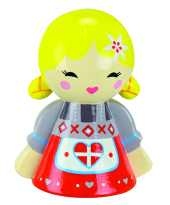 The Savoyard Wooden Koke Doll - Tendre Deal