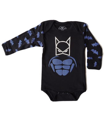 Super Bat Baby bodysuit - Tendre Deal - 1