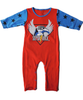 Red/Blue Super Rock all-in-one Pyjamas - Tendre Deal - 1