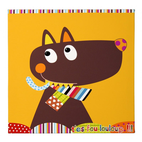 "Canvas Print ""Mr Louloup"""