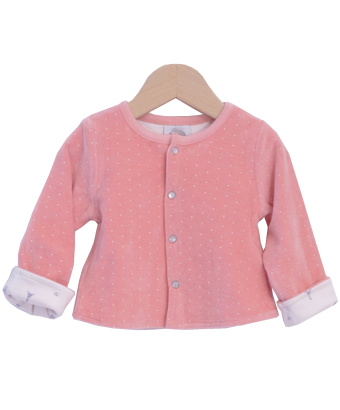 Sweet Pink Jackets with Dots & Paris - Tendre Deal - 1