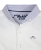 White long sleeves Shirt with Blue Collar - Tendre Deal - 3