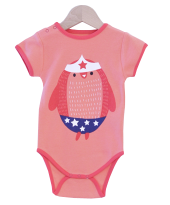 """Wonder Penguin"" Bodysuit - Tendre Deal - 1"