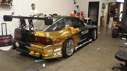 Built 2 Apex RX7 FC Rear Wing - Bespoke Performance Parts  - 3
