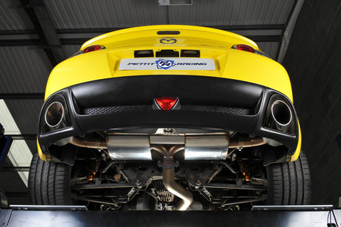 Pettit Racing RX8 Modular Exhaust System - Bespoke Performance Parts  - 1