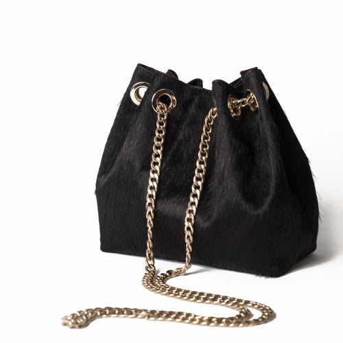 LULU Black Cross-body Bag